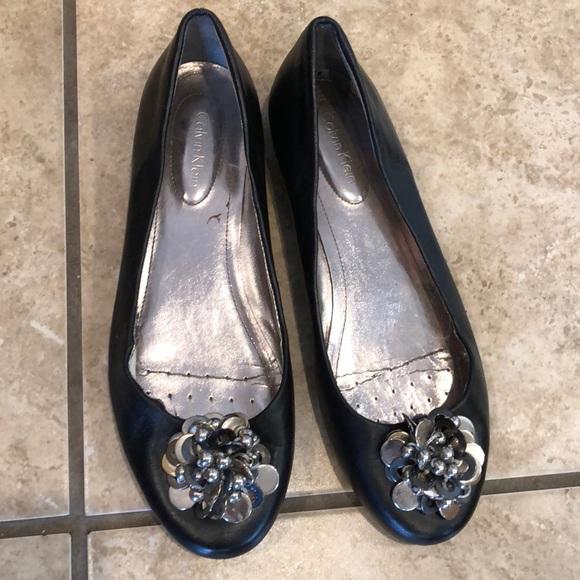 85a4c5f94eeb Calvin Klein Shoes | Ballet Flats | Poshmark